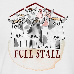 Full Stall - Men's Baseball T-Shirt