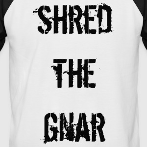 Shred the Gnar - T-shirt baseball manches courtes Homme