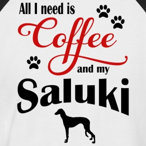 Saluki Coffee - Men's Baseball T-Shirt