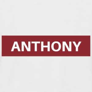 Anthony - Men's Baseball T-Shirt