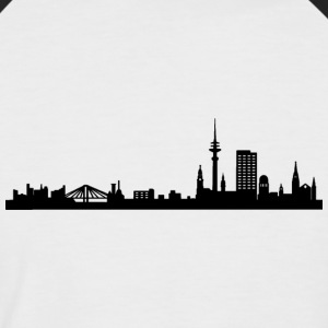 Hambourg - T-shirt baseball manches courtes Homme