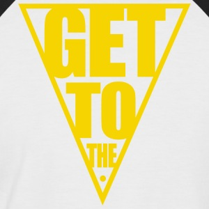 GET TO THE POINT - Men's Baseball T-Shirt