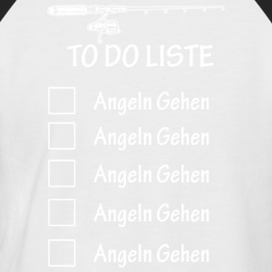 Angel To do Liste - Männer Baseball-T-Shirt