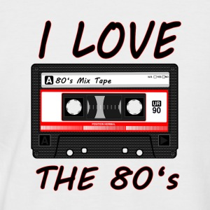 I Love The 80's 80s, 80s, 80s, jazz, music - Men's Baseball T-Shirt