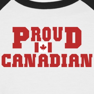 Proud Canadian - Men's Baseball T-Shirt