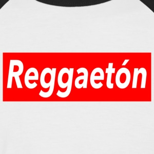 Reggaeton shirt - rouge - Mambo de New York - T-shirt baseball manches courtes Homme