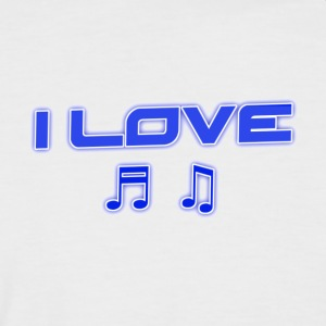 MUSIC STYLE - Men's Baseball T-Shirt