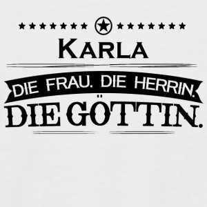 birthday goettin Karla - Men's Baseball T-Shirt