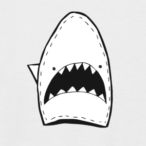 shark smile - Men's Baseball T-Shirt
