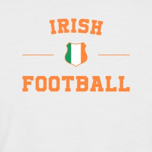 Irish Football Shirt - Irish Soccer Jersey - Kortermet baseball skjorte for menn
