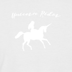 Unicorn - Unicorn Rider - Men's Baseball T-Shirt