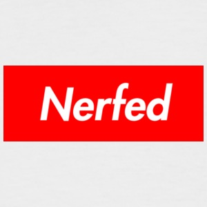 Nerfed Box Logo - Men's Baseball T-Shirt