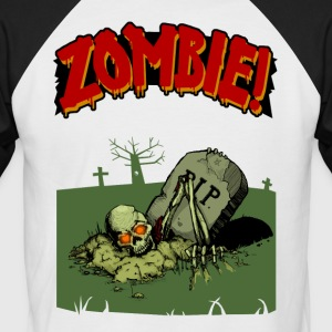 Zombie! - Men's Baseball T-Shirt