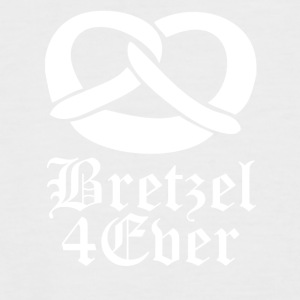 Bretzel wite - Men's Baseball T-Shirt