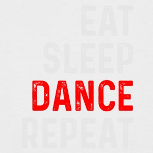 DANCE REPEAT - Men's Baseball T-Shirt