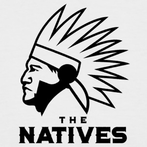 The Natives - Men's Baseball T-Shirt