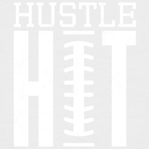 Super Bowl / Football: Hustle Hit - T-shirt baseball manches courtes Homme