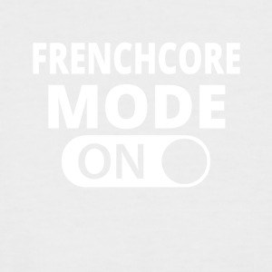 MODE ON FRENCHCORE - Men's Baseball T-Shirt