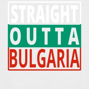 Straight Outta Bulgarie - T-shirt baseball manches courtes Homme