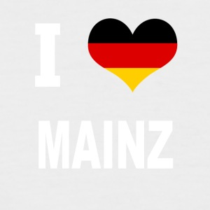 I Love Germany MAINZ - Kortermet baseball skjorte for menn