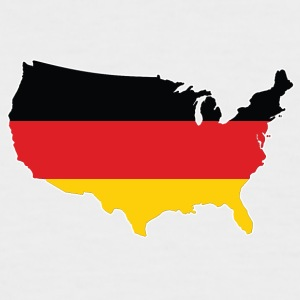 German in the USA German TShirt - HATRIK DESIGN - Men's Baseball T-Shirt