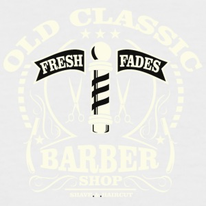 Old Classic Barber - Men's Baseball T-Shirt