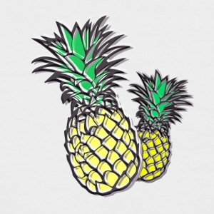 ananas - T-shirt baseball manches courtes Homme
