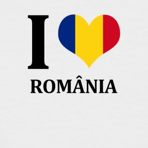 I love România - Men's Baseball T-Shirt