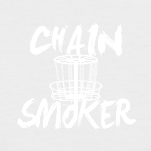 Chain Smoker - Männer Baseball-T-Shirt