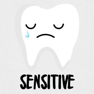 Dentist: Sensitive - Men's Baseball T-Shirt