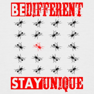 BE DIFFERENT - STAY UNIQUE - Men's Baseball T-Shirt
