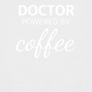 lustiges DOKTOR powered by coffee Design - Männer Baseball-T-Shirt