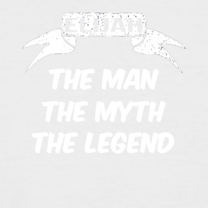 elijah the man the myth the legend - Männer Baseball-T-Shirt