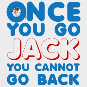 Hund / Jack Russell: Once You Go Jack, You Cannot - Männer Baseball-T-Shirt