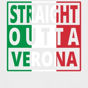Straight Outta Italia Italie Vérone - T-shirt baseball manches courtes Homme