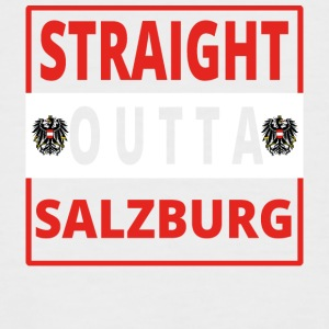 Straight Outta Salzbourg - T-shirt baseball manches courtes Homme