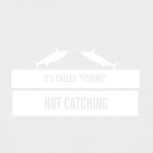 fishing - Men's Baseball T-Shirt
