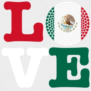 MEXICO HEART - Men's Baseball T-Shirt