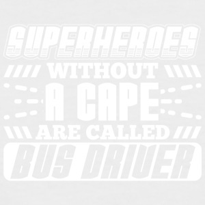 SUPERHEROES BUSDRIVER - Men's Baseball T-Shirt
