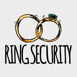 Wedding / Marriage: Ring Security - Men's Baseball T-Shirt