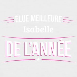 Isabelle elue meilleure Isabelle - T-shirt baseball manches courtes Homme