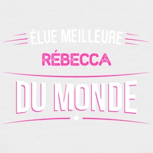 Rebecca t shirt drole pour Rebecca - T-shirt baseball manches courtes Homme