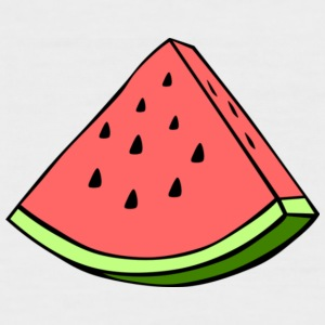 watermelon - Men's Baseball T-Shirt