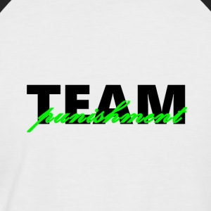 punition TEAM - T-shirt baseball manches courtes Homme