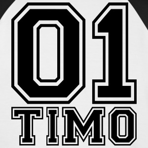 Timo - Name - Men's Baseball T-Shirt