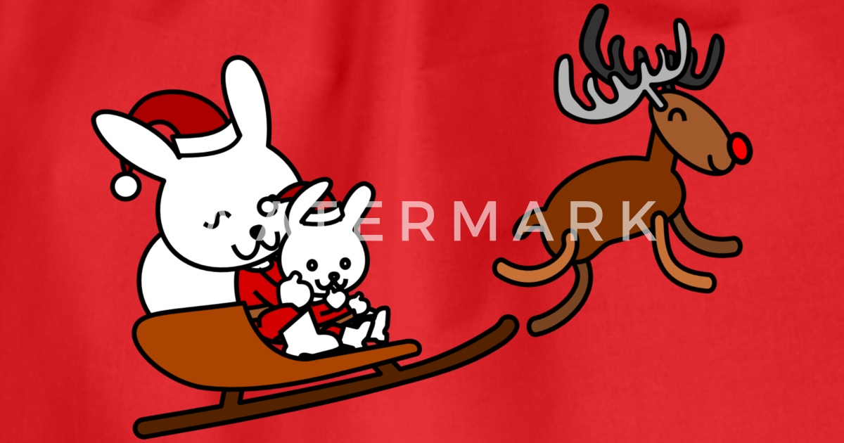 santa sleigh ride christmas schlitten weihnachten2 von Lustige Coole ...