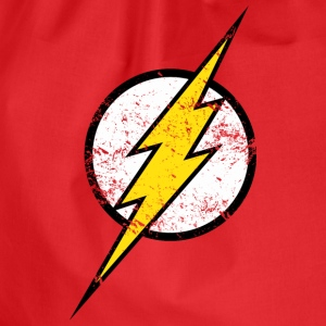 Justice League Flash Logo vintage