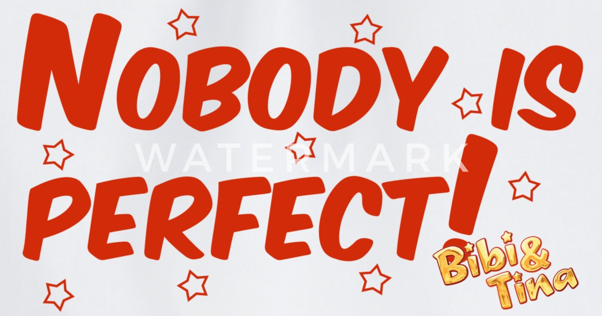 Bibi Und Tina Star Edition Nobodys Perfect Turnbeutel Spreadshirt