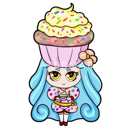 Cupcake Girl Cupcake Madchen Geburtstag Turnbeutel Spreadshirt