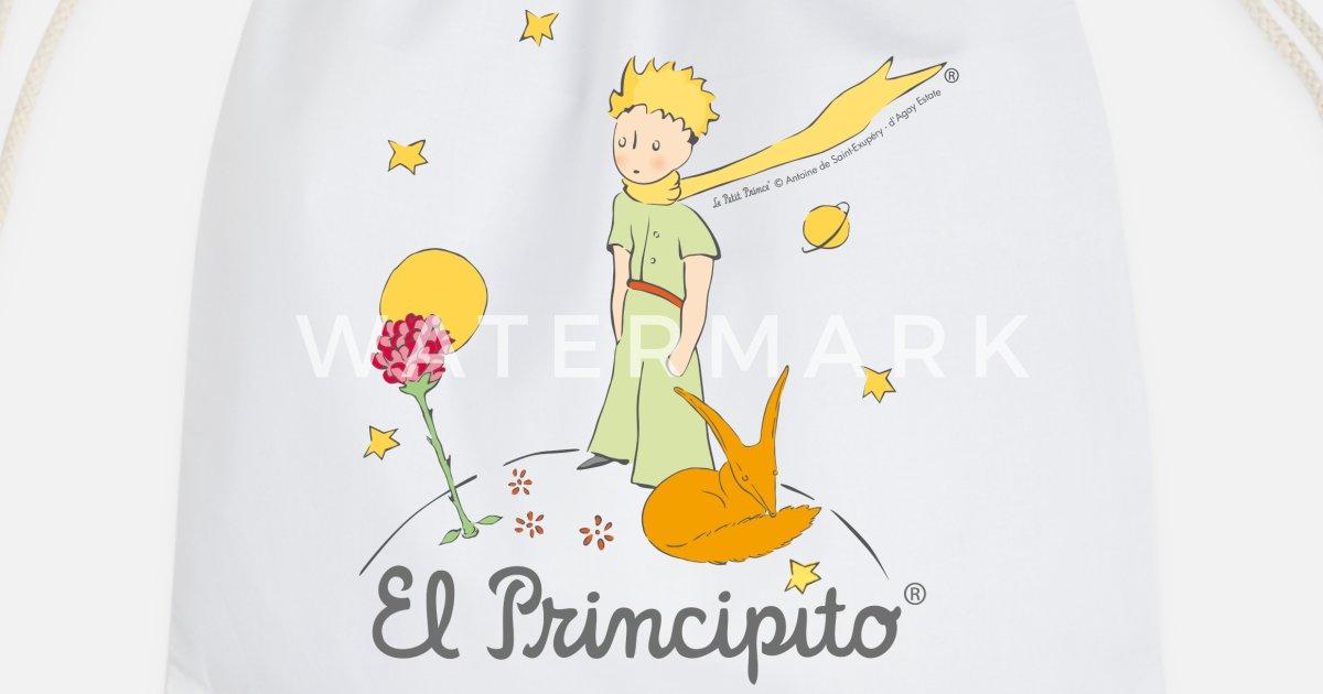 El Principito Con Rosa Y Zorro Mochila Saco Spreadshirt